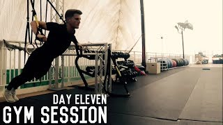 Weak Foot Training and Gym Session | The Pre-Preseason Program | Day Eleven