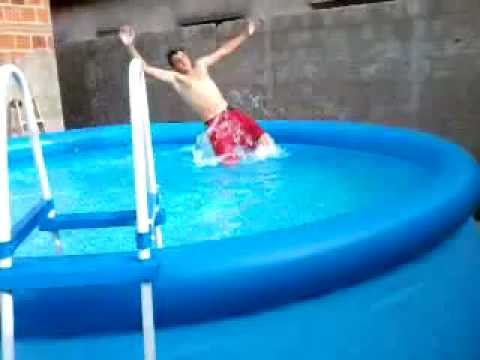 Piscina intex do carl o youtube for Piscinas de 2 metros