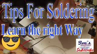 How to Solder the Right Way