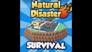 ROBLOX Surviving The Natural Disasters! (Challenge)