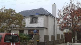 External Solid Wall Insulation Cheltenham. Www.jjdecorating.co.uk