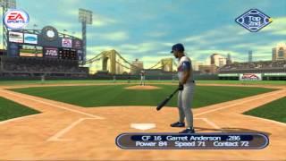 Triple Play Baseball PS2 PCSX2 (2001) 60fps ANA at PIT