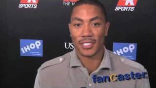 2011 MVP D Rose Discusses Possible NBA Lockout