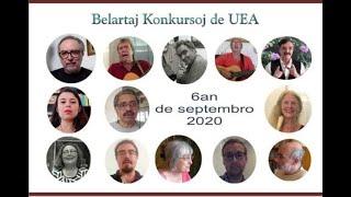 #MondaFest2020 Premia Festo de la Belartaj Konkursoj de UEA