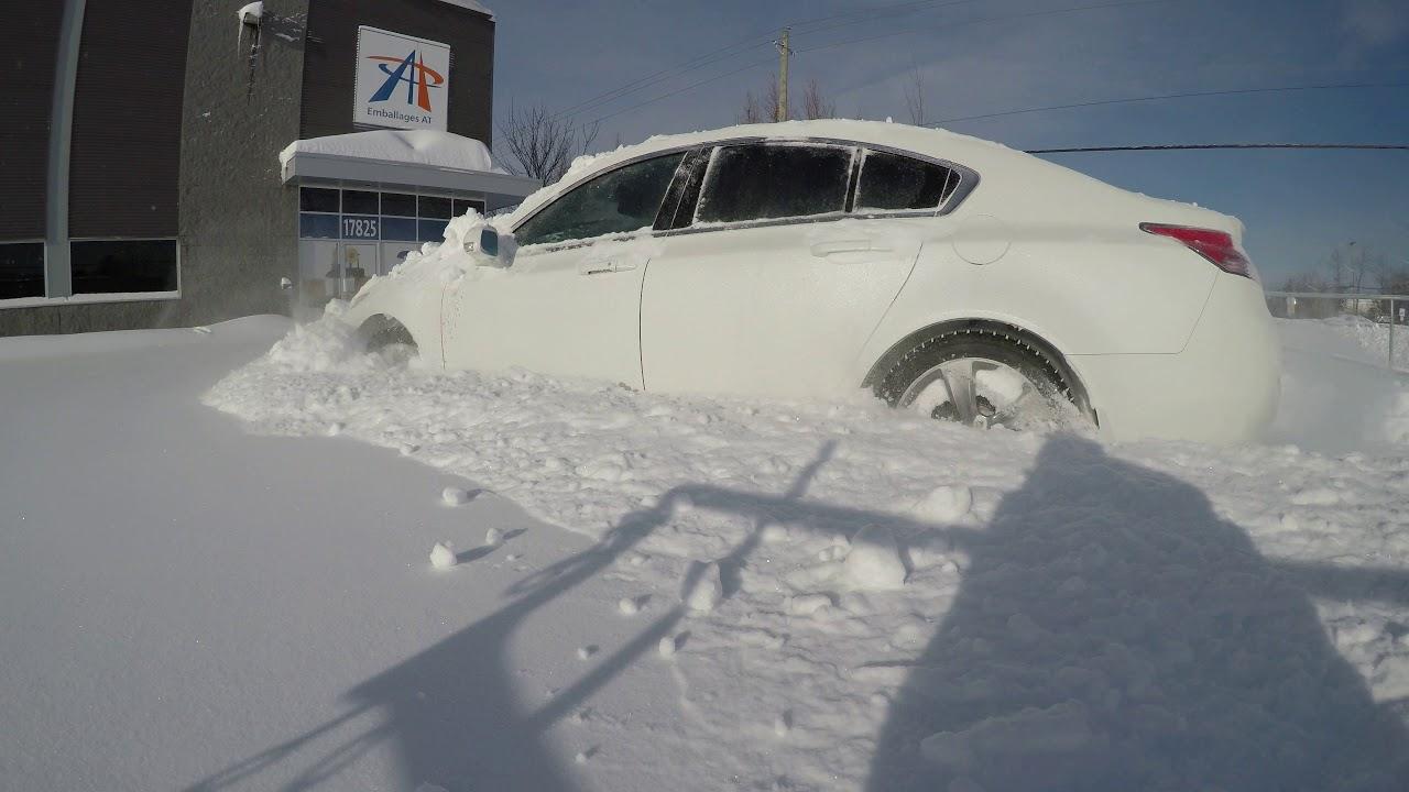 Acura Tl Sh Awd Snow Bank Lvl Expert 4k
