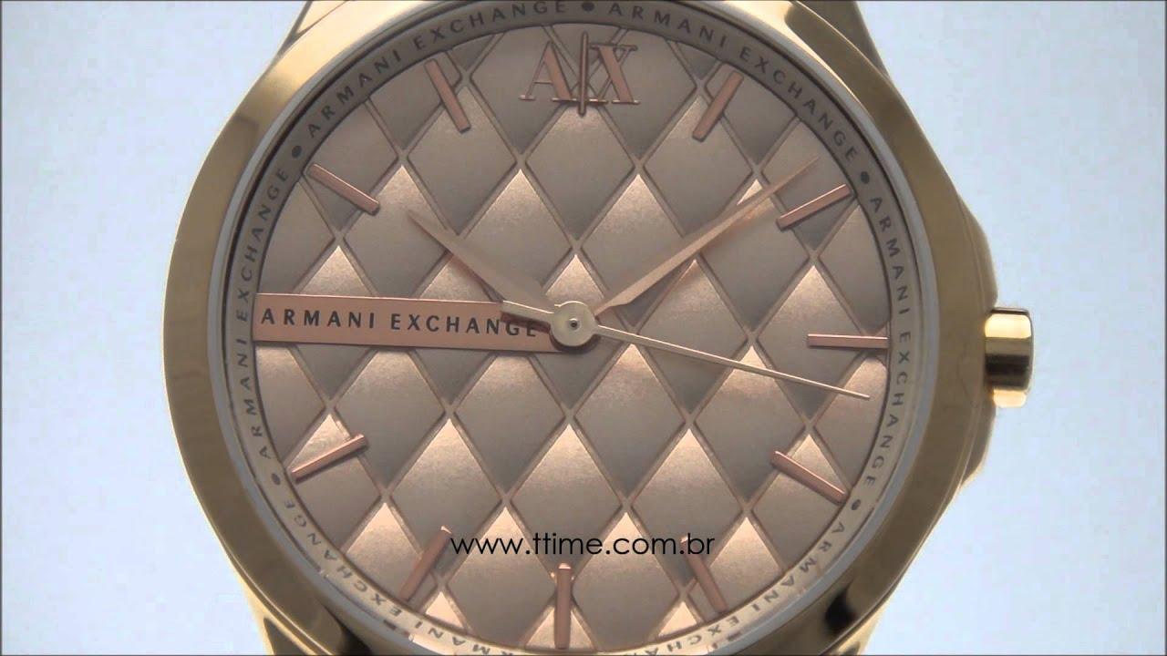 095ab55e718 relógio feminino Armani Exchange AX5202 4TN