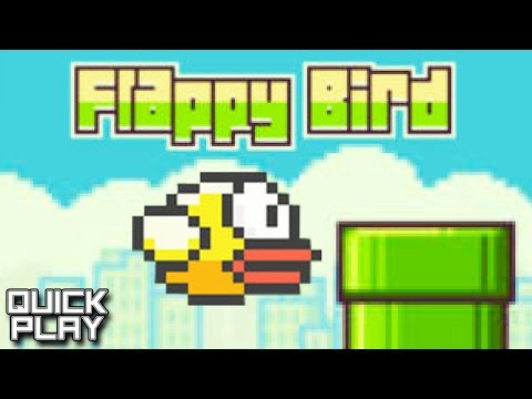 Quick Play - Flappy Bird - Infuriating and Addicting Game for iOS and Android Mobile Platforms