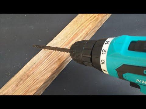 Brilliant hack with broken saws, Diy Woodworking Tools
