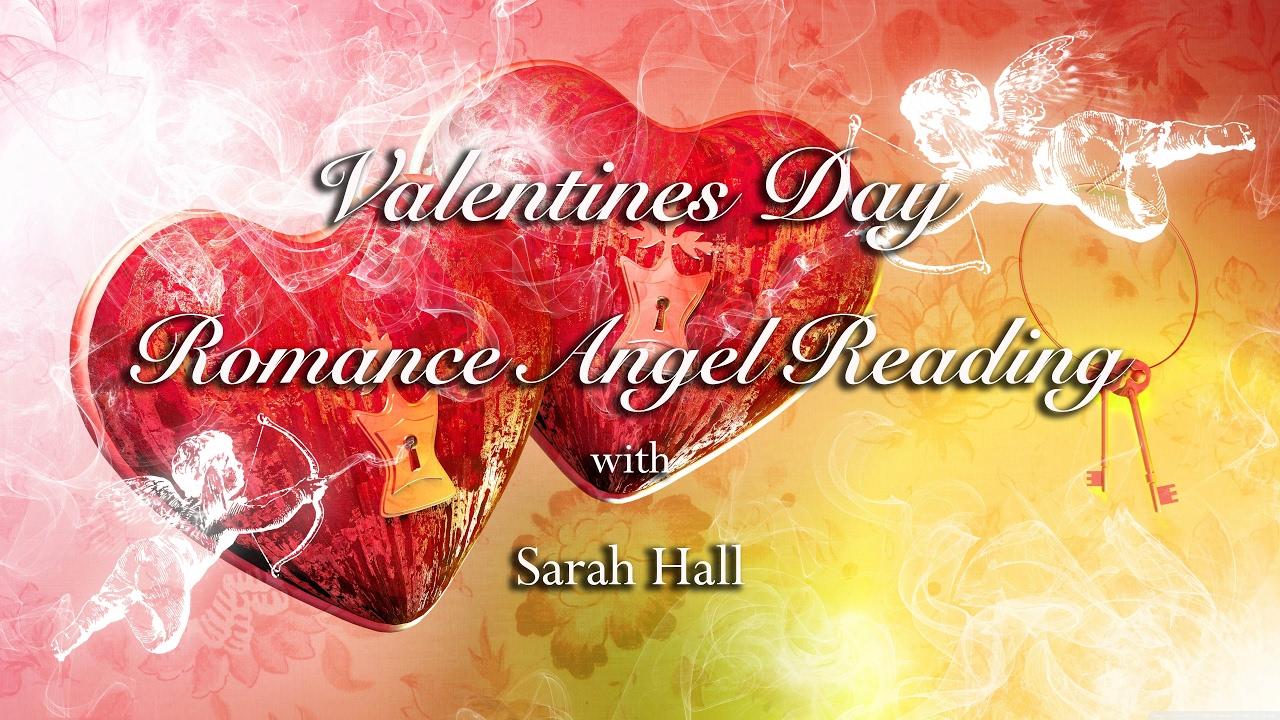 Valentine s day romance angel reading 💗 sarah hall youtube