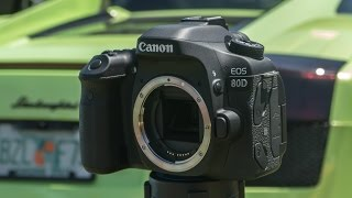 Canon 80D Hands On Review & Test