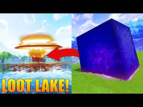 The Cube Is Destroying Tilted Towers! // LOOT LAKE EVENT TODAY?! // Fortnite: Battle Royale Gameplay