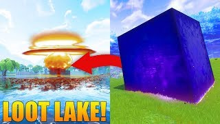 LOOT LAKE EVENT TODAY?! // The Cube Is Moving Right Now! // Fortnite: Battle Royale Gameplay