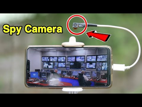 How to make Spy CCTV Camera at home with old Phone Camera