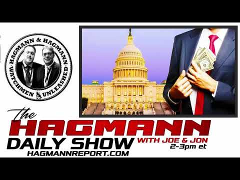 The Hagmann Daily Show 2018 - March 24, 2018 : Congress Is Stealing $100,000,000 Per Hour