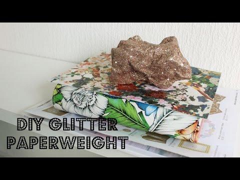 DIY Glitter Paperweight | Paperweight Making | Jtru