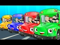 Wheels On The Bus Go Round And Round | Nursery Rhymes | Kids Songs | Baby Rhymes | Children Videos