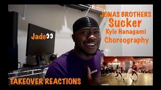 JONAS BROTHERS - Sucker | Kyle Hanagami Choreography - REACTION