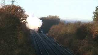 5043 'Earl of Mount Edgcumbe' on The Elge Explorer (23/11/13) Thumbnail