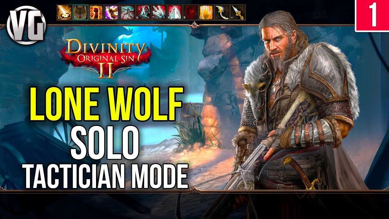 Divinity Original Sin 2: Lone Wolf Walkthrough Part 1 - Troubled Waters -  Tactician Mode