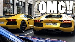 Chasing Outrageous Supercars In London!!!