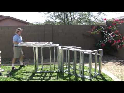 Kitchen Island Kit outdoor kitchen (mail order frame kits ) - youtube