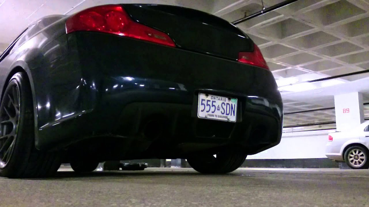 Best infiniti g35 exhaust ever must see