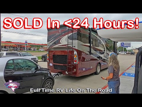 We Sold Our RV!   Full Time RV Life