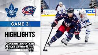 NHL Highlights   Maple Leafs @ Blue Jackets, GM.3 - Aug. 6, 2020