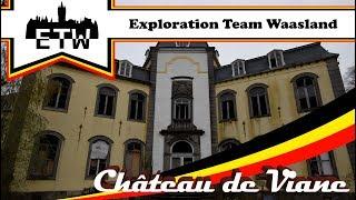 ChГўteau de Viane   Verlaten en verwaarloosd kasteel.