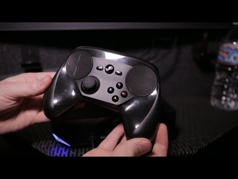 Valve's Robin Walker presents final Steam Controller at PAX