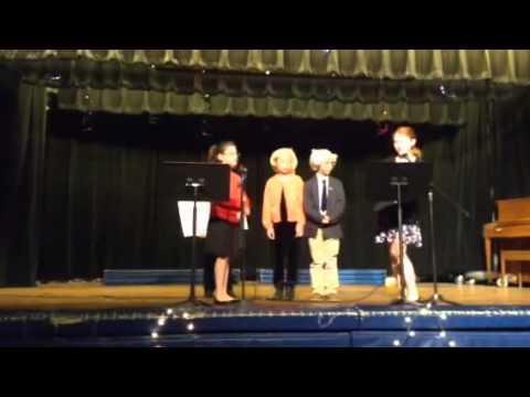 Presidential Debate 2016 Tariffville School Talent Show Act