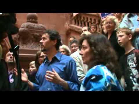 Albany NY Anti-Fracking Rally and Concert