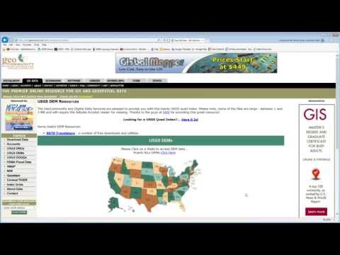 Using 3ds Max Design With Civil 3D - Part 04 - Getting GIS Data
