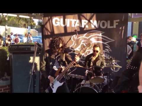GONERFEST 10 Opening Ceremonies:  GUITAR WOLF!!!