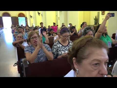 Liberando  heridas odios y resentimientos P Jose Eugenio Hoyos Catedral San Pedro Sula