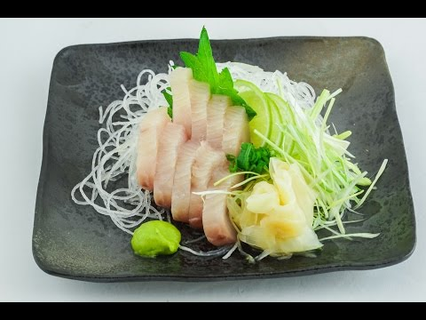 How To: Make EASY Wahoo Sashimi - Carlito's Cooking Adventures