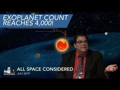 Exoplanet Count Reaches 4000!   All Space Considered at Griffith Observatory