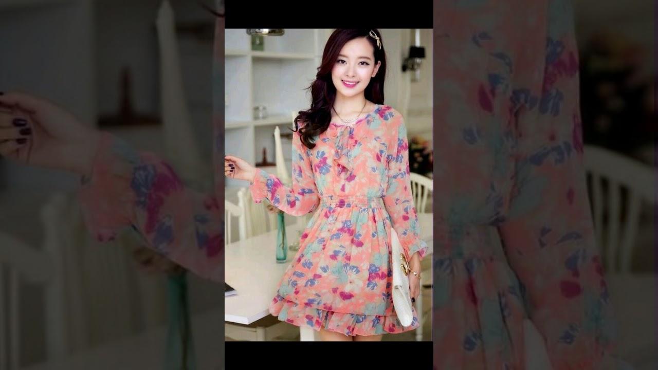 Tiernos vestidos frescos para chicas♥ - YouTube