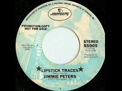 Jimmie Peters - Lipstick Traces