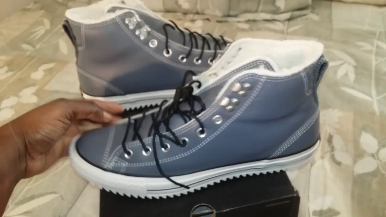 48f25c955302b3 Shoe Game  Converse Chuck Taylor All-Stars City Hiker Admiral Grey Video 246