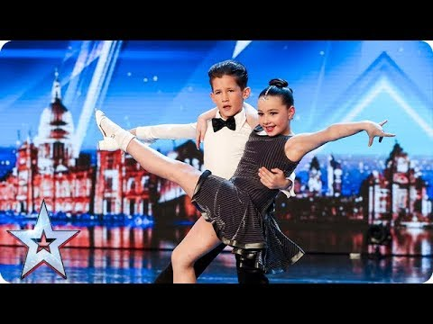 2e3f6605f Meet dazzling dancing duo Lexie and Christopher | Auditions | BGT 2018