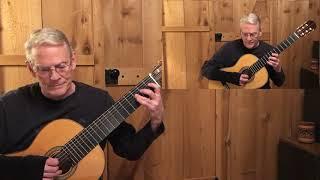 Sarabande from English Suite #2 by J S Bach; Daniel Estrem, guitar