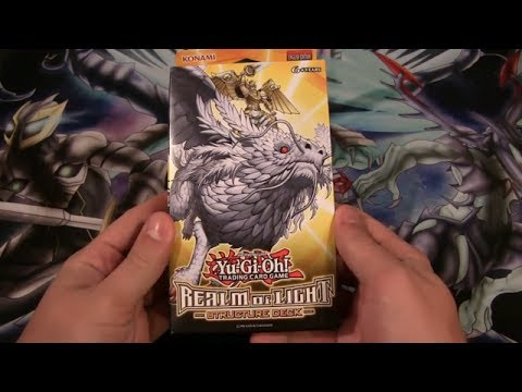 Yugioh realm of light structure deck opening youtube yugioh realm of light structure deck opening mozeypictures Images