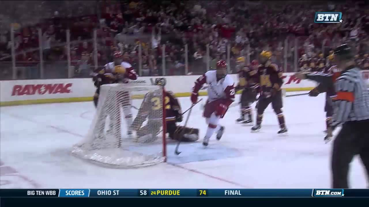 Minnesota at Wisconsin - Men's Hockey Highlights