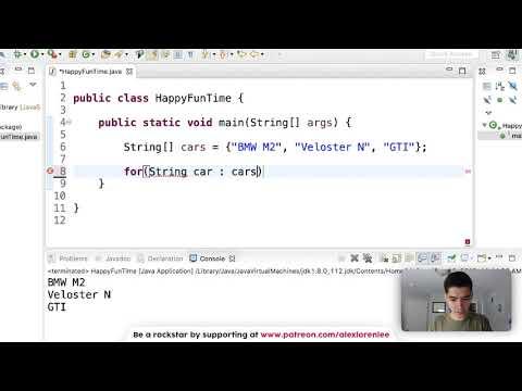 For Each Loop Java Tutorial - How to Make a For Each Loop in Java