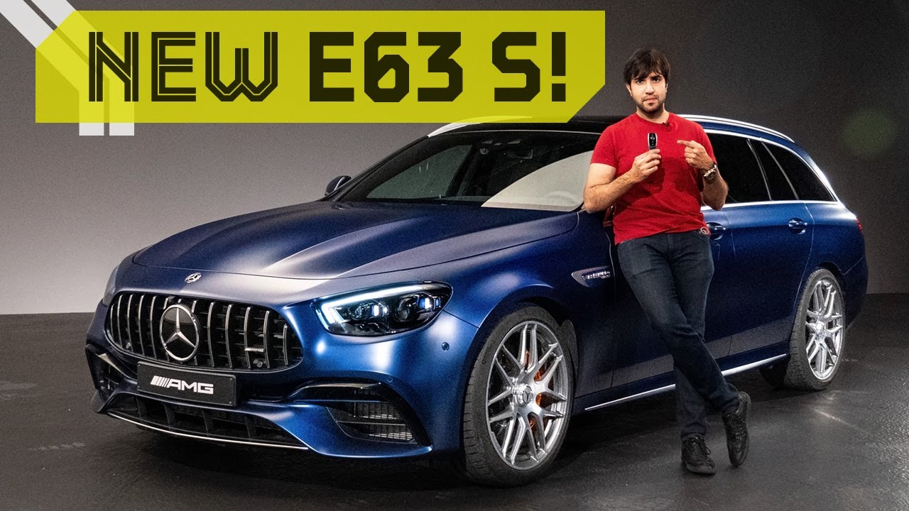 2021 Mercedes AMG E63 S! First look with Mr.AMG!