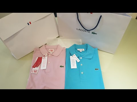 LACOSTE Polo Shirts - Unboxing