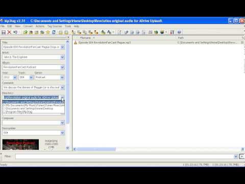 005 How to add ID3 Tag to Your MP3 File