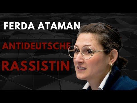 Ferda Ataman - Antideutsche Rassistin staatl finanziert
