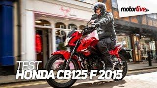 TEST | HONDA CB125F 2015